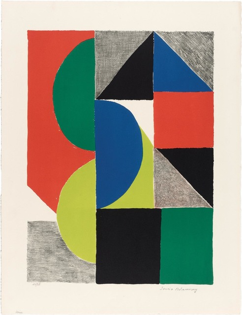 Sonia Delaunay, 'VENISE', 1969, Doyle