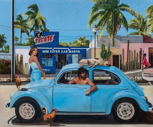 Tracy Stuckey, 'Super Mini', 2020, Painting, Oil on canvas, Visions West Contemporary