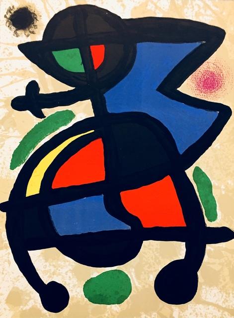 Joan Miró, 'From 'Derrière le Miroir - Miró: Sculptures'', 1970, Eames Fine Art