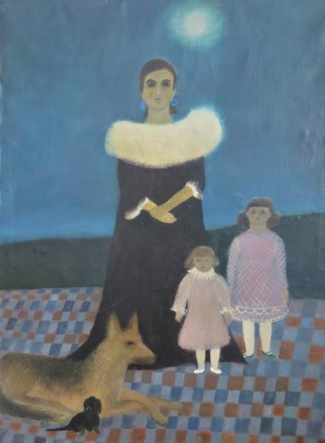 , 'Portret,' 1962, lokal_30