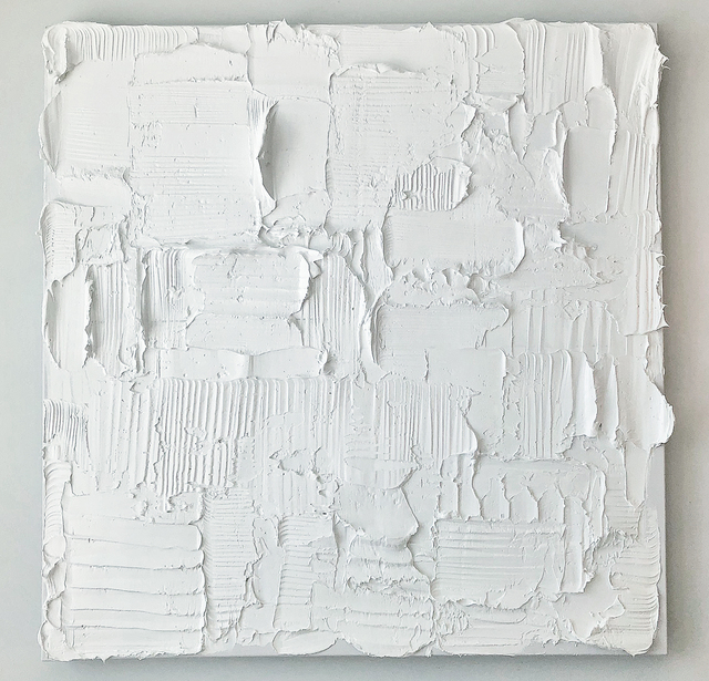 , 'Titanium Zinc White ,' 2019, Jeff Lincoln Art+Design