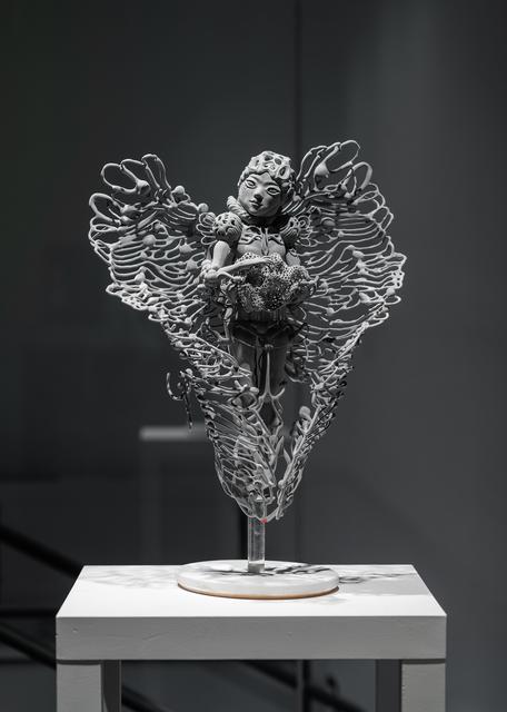 , 'Veritas holding a Ribosome,' 2019, Upfor