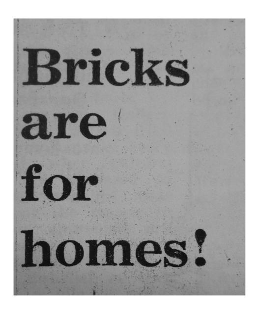 , 'Bricks,' , Collezione Maramotti