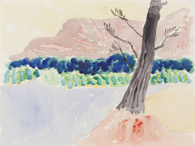 , 'Untitled [Yellow Sky, Mauve Mountain],' , Childs Gallery