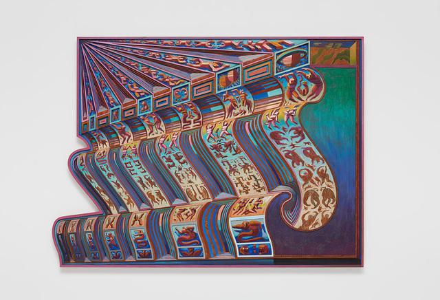 , 'Zodiac Bench (6 Days / 7 Nights),' 2018-2019, David Kordansky Gallery