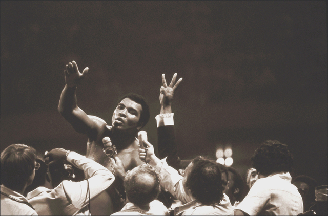 , 'Muhammad Ali, Three Time Heavyweight Champion ,' 1978, Richard Beavers Gallery
