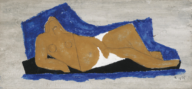 , 'Femme allongée,' 1924, BAILLY GALLERY