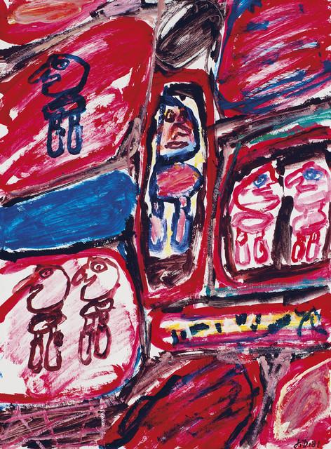 , 'Site avec 6 personnages,' 1981, Rosenbaum Contemporary