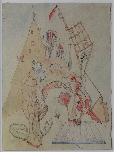 , 'Elle et lui sous le pont,' 1938, Galerie Thomas