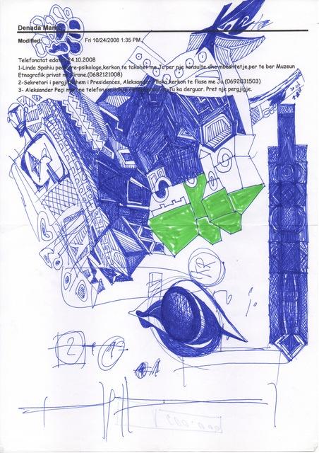 Edi Rama, 'Friday 24 October, 2008 (n. 537)', Alfonso Artiaco