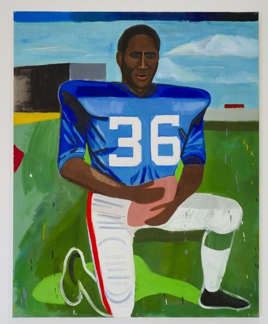 Anthony Rianda, 'Untitled (OJ Simpson)', 2018, Kantor Gallery