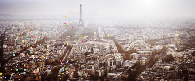 , 'Balloons over Paris,' 2016, Only Art Club