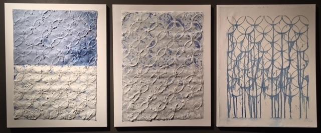 , 'Untitled (triptych),' 2016, InLiquid