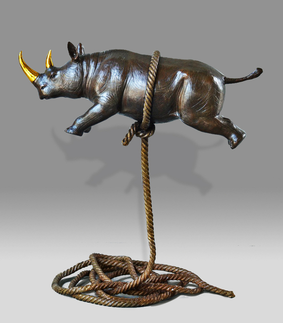 , 'Rhino's Flight For Freedom - Limited Edition ,' 2017, Gillie and Marc Art Gallery