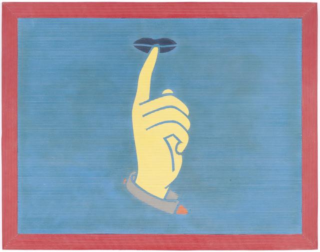 , 'Silencio,' 2010, Galerie Peter Kilchmann