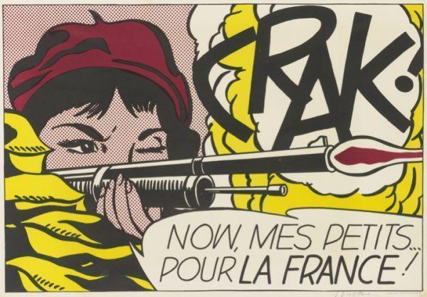 Roy Lichtenstein, 'Crak!', 1964, Vertu Fine Art