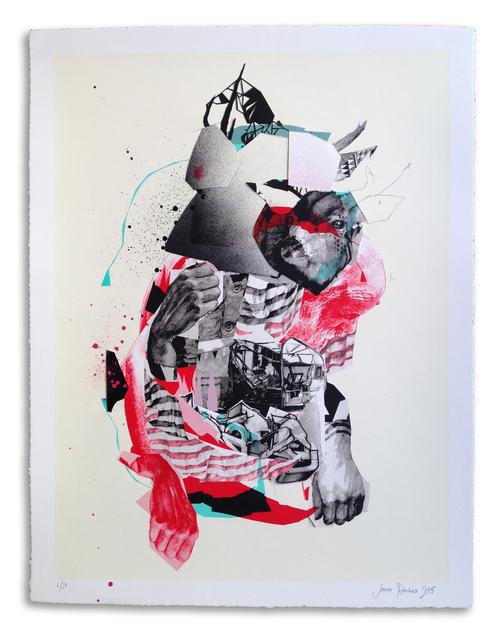 , ''Buckwild' Hand Embellished # 6,' 2015, StolenSpace Gallery