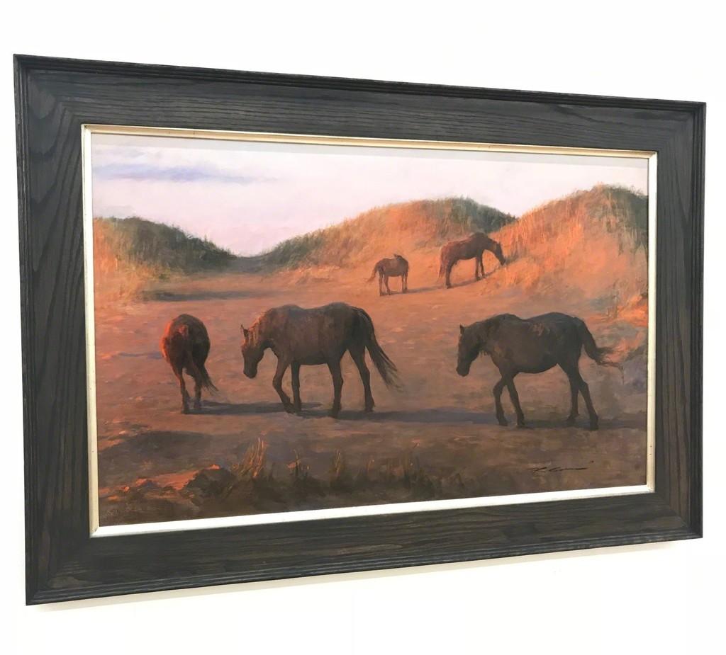 "Framed view of ""Evening Sunset"""