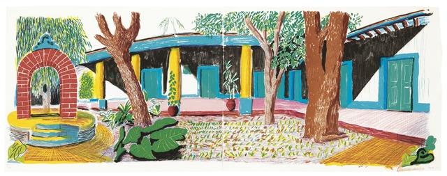 David Hockney, 'Hotel Acatlan: Second Day, from Moving Focus', 1984-1985, Upsilon Gallery