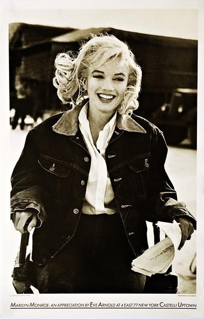 Eve Arnold, 'Marilyn Monroe: An Appreciation, Castelli Uptown. Unframed. ', 1987, Alpha 137 Gallery