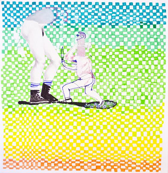 , 'Pigtails,' 2015, David Lusk Gallery