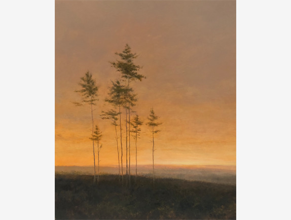 , 'Beyond the Pines,' , Addison Art Gallery
