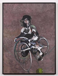 Portrait of George Dyer Riding a Bicycle (Q1B), 1966