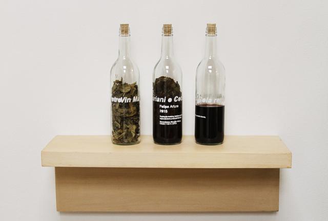 , 'Vin Mariani o Coca cola retro,' 2015, Instituto de Visión