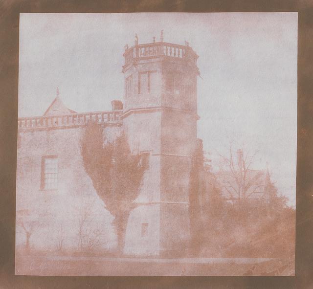 , 'Sharington's Tower, Lacock Abbey,' 6 April 1842, Hans P Kraus Jr. Fine Photographs