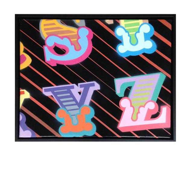 , 'S, T, Y, Z,' 2015, StolenSpace Gallery