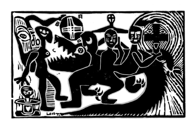 , 'LE FESTIVAL,' 1972, ARTCO Publishing