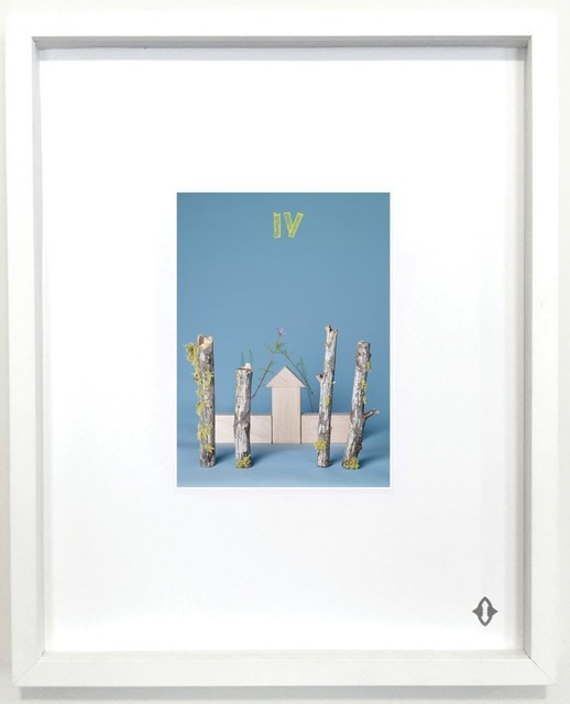 ", 'FOUR OF WANDS, From the series ""Contemporary Magic: A Tarot Deck Art Project"" Limited Edition 5th Anniversary Print Collection,' , ART CAPSUL"