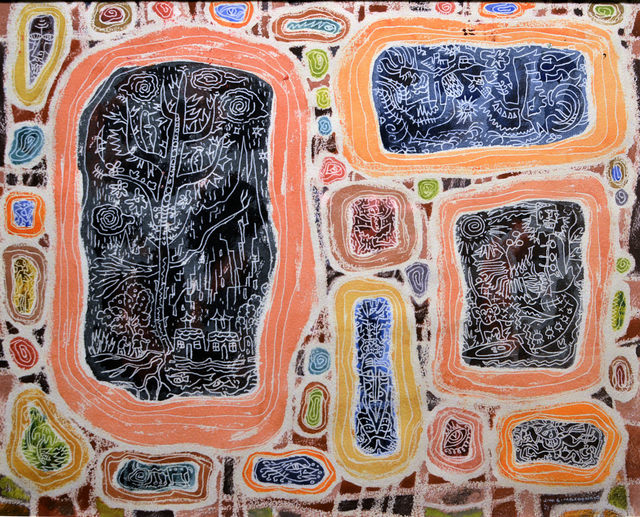 , 'Inscribed Stones,' 1952, Canadian Art Group