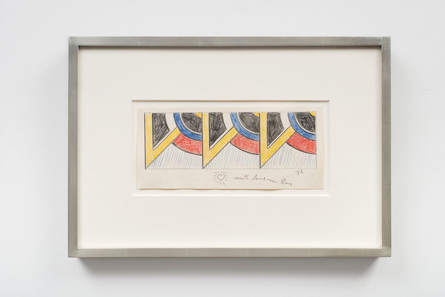 , 'Drawing for Modern Painting Triptych II,' 1967, Helwaser Gallery