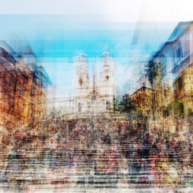 , 'Spanish Steps,' 2018, Petroff Gallery
