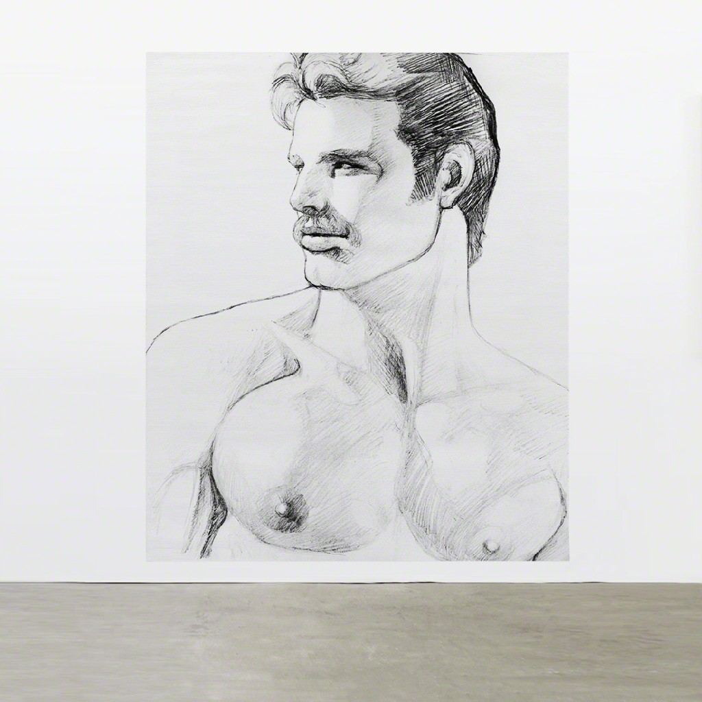 TOM OF FINLAND, Untitled (in situ), 1980