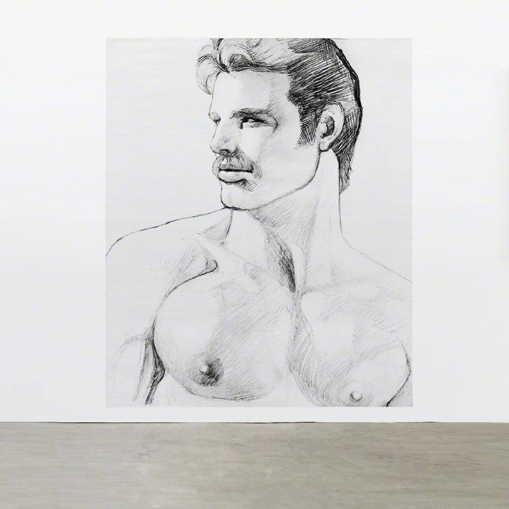 TOM OF FINLAND, Untitled (in situ), 1980