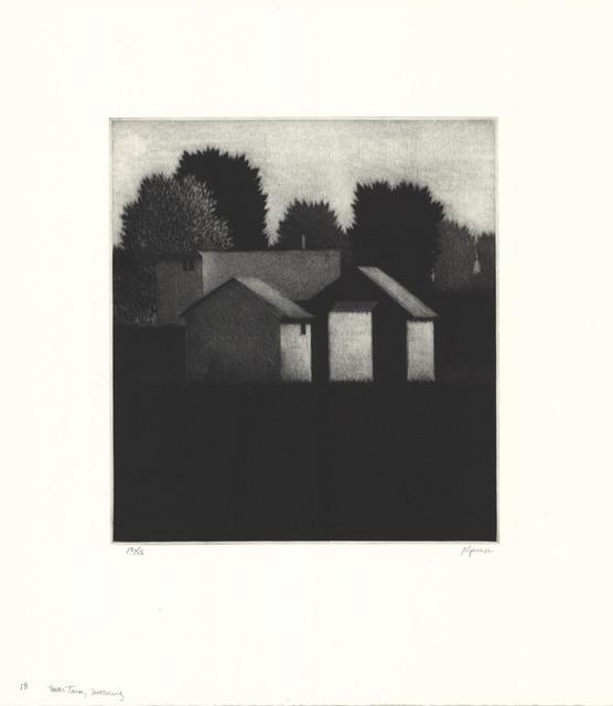 Robert Kipniss, 'Near town, morning.', 2018, The Old Print Shop, Inc.