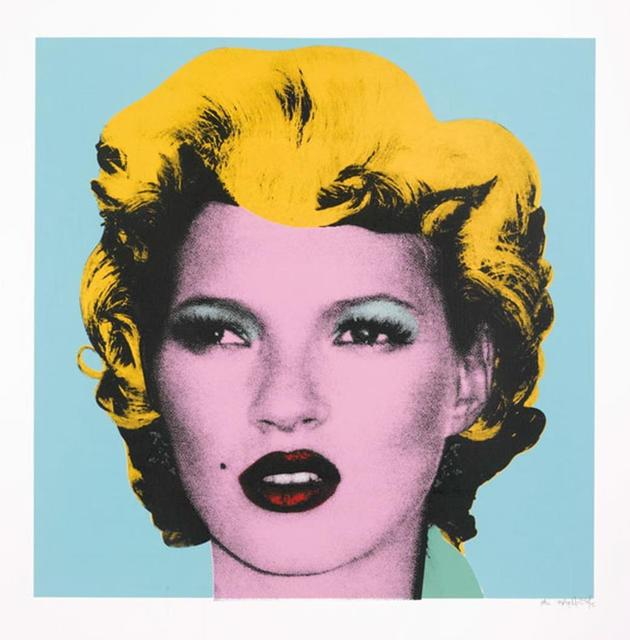 Banksy, 'Kate Moss (Original Colour)', 2005, Puccio Fine Art