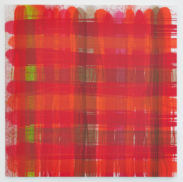 , 'PLAID#7,' 2015, Deborah Schamoni