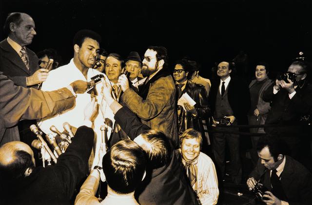 Garry Winogrand, 'Muhammad Ali and Oscar Bonavena Press Conference, New York City', 1970, Skinner