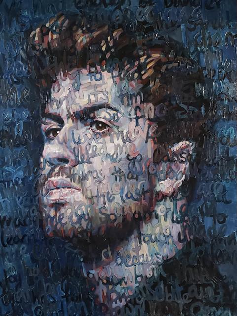 , 'George Michael,' 2018, JF Gallery