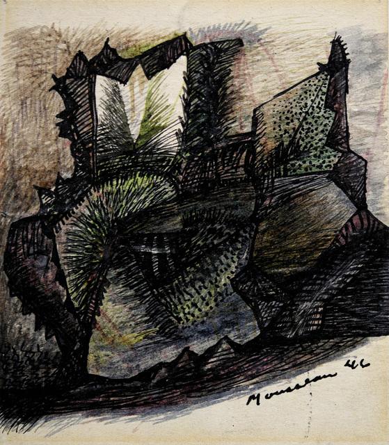 , 'Sans titre,' 1946, Canadian Art Group