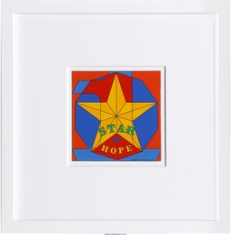 Robert Indiana, 'Star of Hope,' 1972, Heritage Auctions: Valentine's Day Prints & Multiples