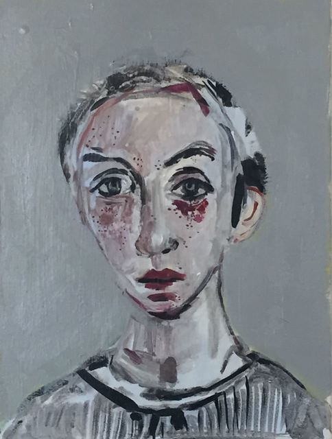 , 'Portrait ,' 2017, Galeria Rabieh
