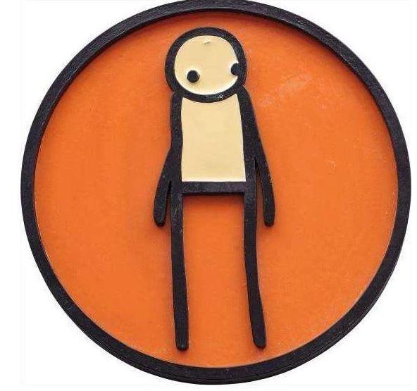 Stik | Plaque (Orange) (2011) | Available for Sale | Artsy