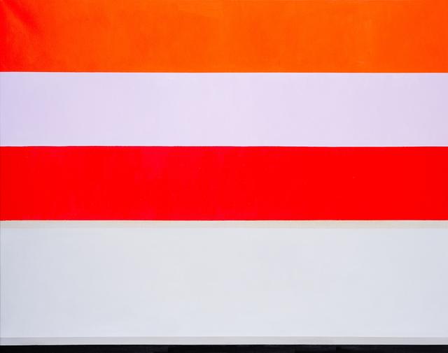 , 'Red, Garnet & Vermilion Sky,' 2018, Charles Nodrum Gallery