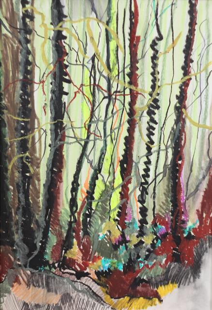 , 'wald II,' 2014, galerie burster