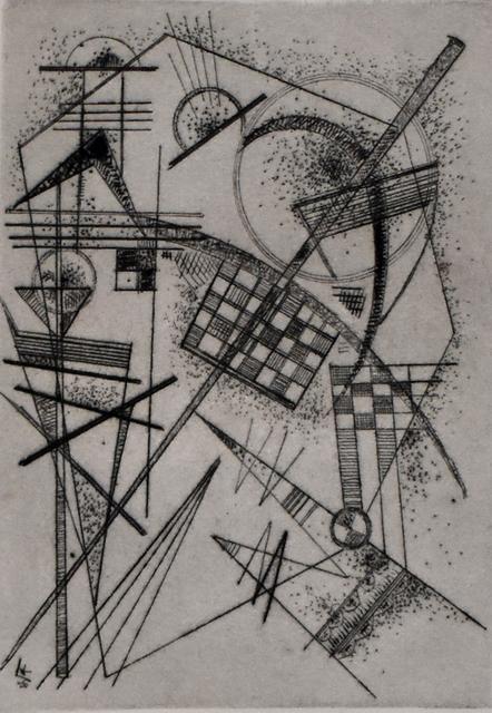 Wassily Kandinsky, 'Etching for the German Art Community | Radierung für die Deutsche Kunstgemeinschaft', 1926, Gilden's Art Gallery