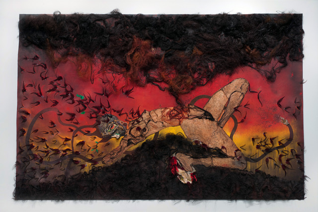 , 'The storm has finally made it out of me Alhamdulilah,' 2012, Susanne Vielmetter Los Angeles Projects